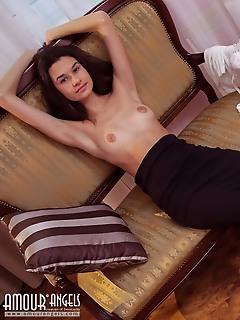 Cutie undressing
